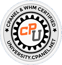 cPanel and WHM Certified Logo Image