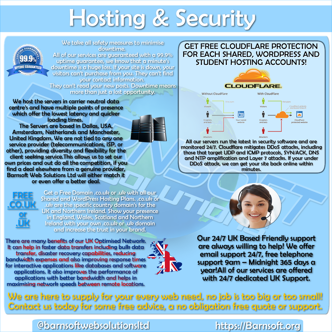 Hosting & Security